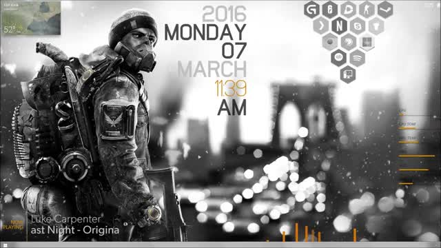 Watch and share Rainmeter GIFs and Division GIFs by justkeptfading on Gfycat