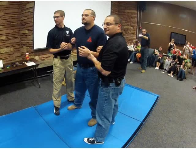 Watch Cop TASERed for Charity GIF on Gfycat. Discover more related GIFs on Gfycat