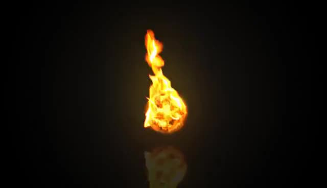 VFX: Realistic Fireball GIFs