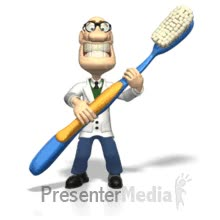 Watch and share Dentist Holding Toothbrush PowerPoint Animation GIFs on Gfycat
