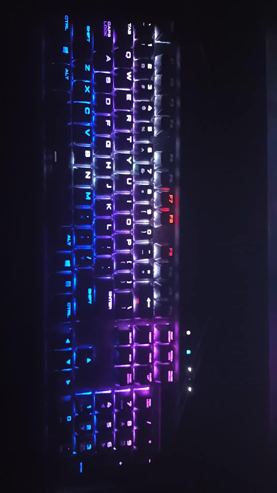 Outrun Keyboard Lighting GIFs