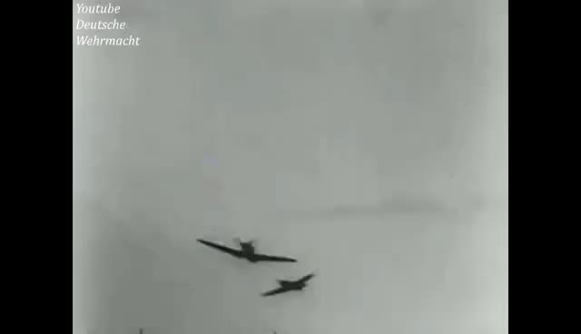 Watch and share Spitfire Going Down Adolf Galland Guncamera Original Sound Messerschmitt Bf 109 Oktober 1941 GIFs on Gfycat