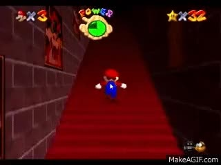 Watch Super Mario 64 - endless stairs [10 hours] GIF on Gfycat. Discover more related GIFs on Gfycat