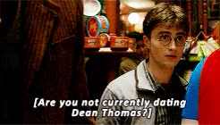 Watch and share Daniel Radcliffe GIFs and Ginny Weasley GIFs on Gfycat