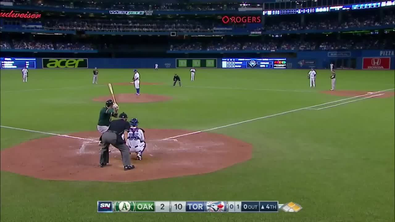 Torontobluejays, I used the MLB.tv & Xbox apps on Windows 10 to record this beautiful double play (reddit) GIFs