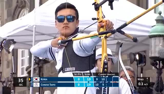 Watch and share Ku Bonchan Shooting Archery GIFs on Gfycat