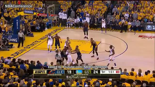 Watch and share Clevleland Cavaliers Vs Golden State Warriors - Game 1 - Full Highlights - 2016 NBA Finals GIFs on Gfycat