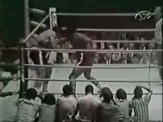 Watch Foreman knocks Roman down GIF on Gfycat. Discover more George Foreman GIFs on Gfycat