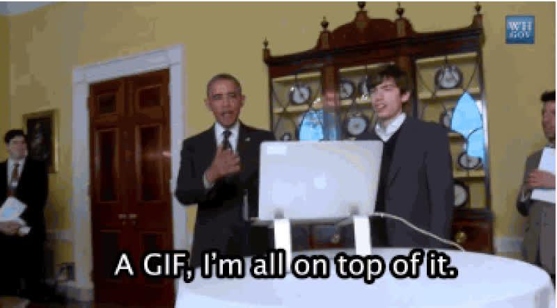 barack obama, gif, jif, obama, hm. o GIFs