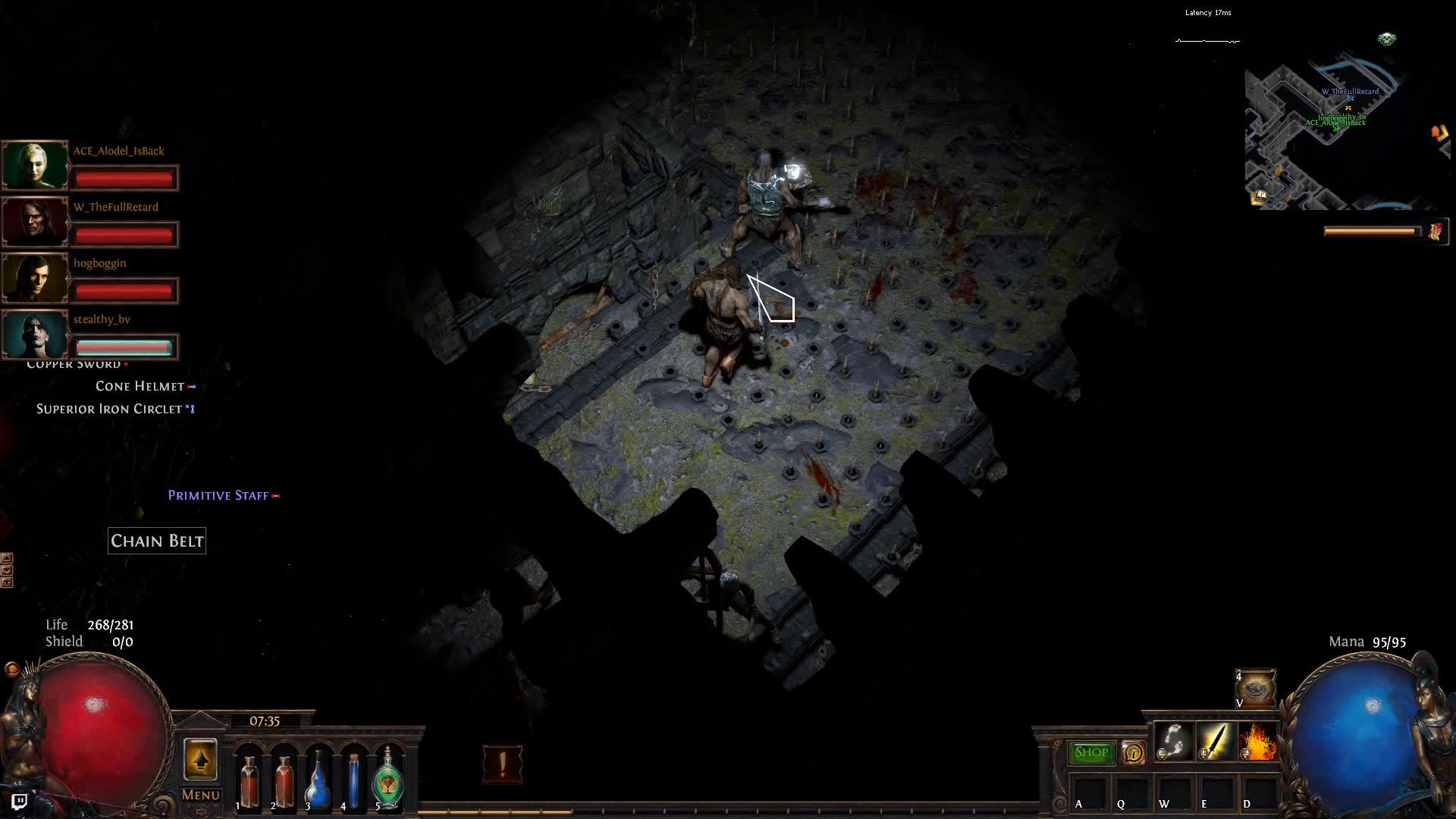 ▷ [Bestiary] Abaxoth kill in Wild Zana 77 Sea witch Beyond