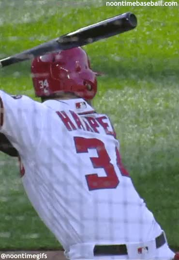 Watch and share Harper Back GIFs by noontimebaseball on Gfycat
