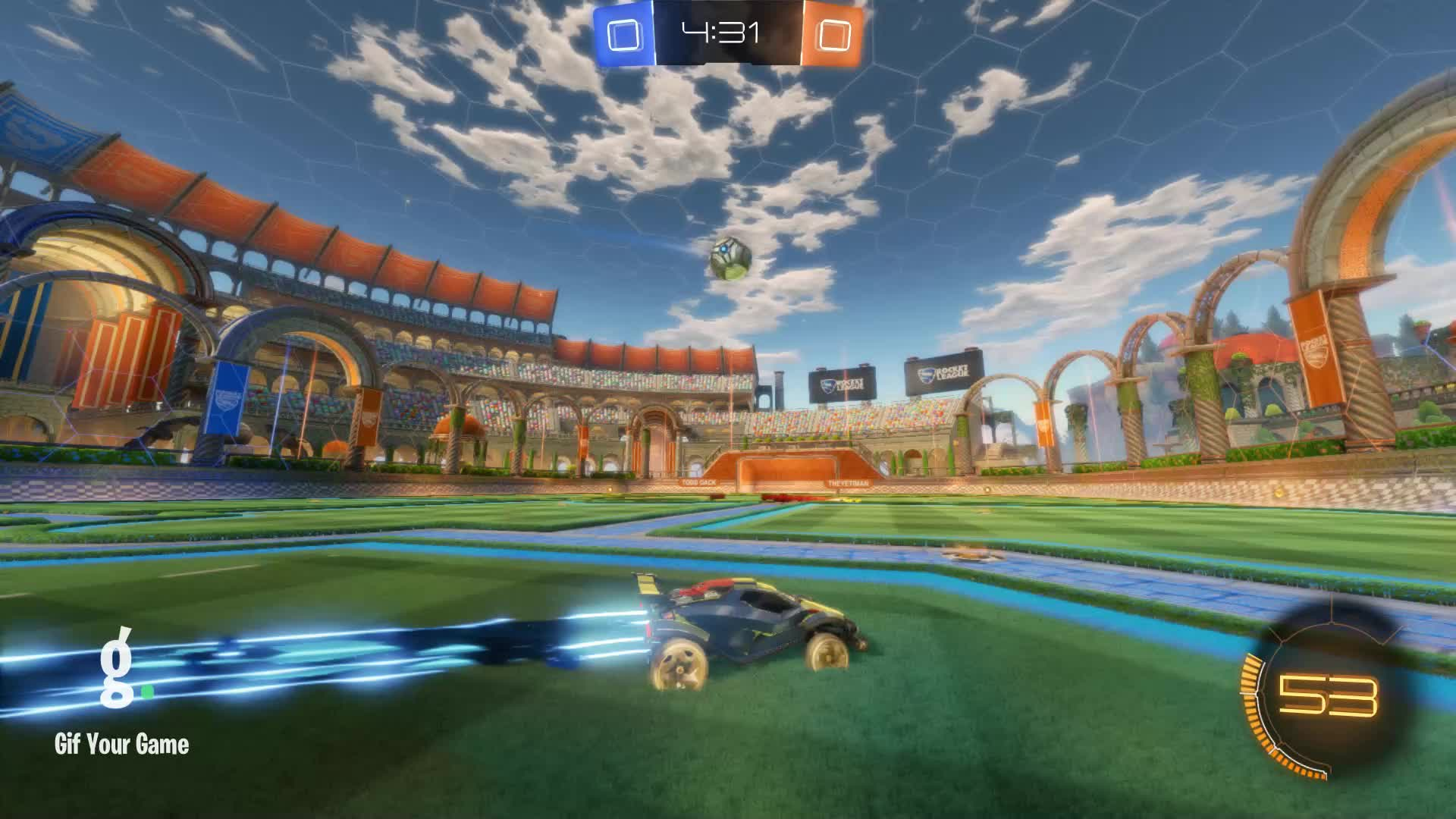 Assist, Gif Your Game, GifYourGame, ItWas...Justified, Rocket League, RocketLeague, Assist 1: ItWas...Justified GIFs