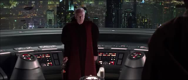 Watch and share Revenge Of The Sith GIFs and Emperor Palpatine GIFs by Mikhail on Gfycat