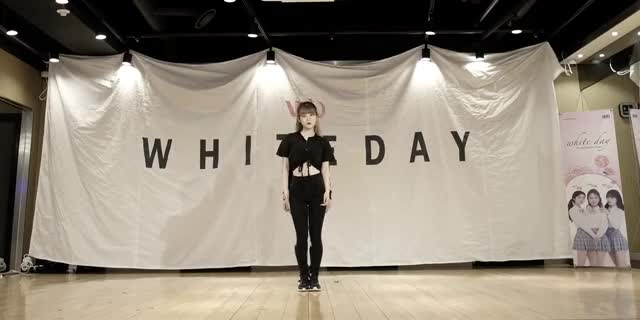 Watch and share 화이트데이 - 달 (댄스 연습) GIFs by 렉서 on Gfycat