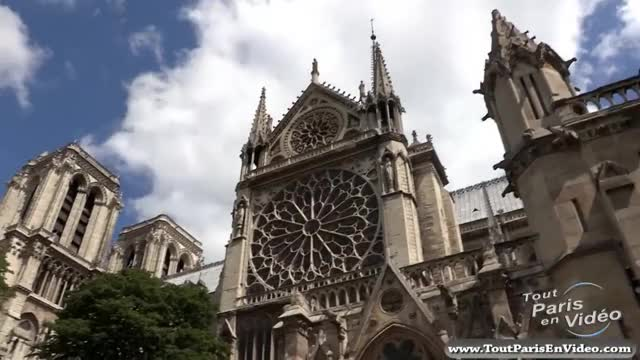 Watch and share Cathédrale Notre-Dame De Paris (Full HD) GIFs on Gfycat