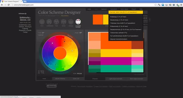 Watch and share Free For All – Color Blind Palette Designer GIFs on Gfycat