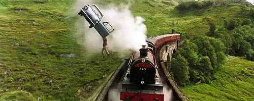Watch Hogwarts Express GIF on Gfycat. Discover more Harry Potter, chamber of secrets, flying car, hogwarts express, mine GIFs on Gfycat