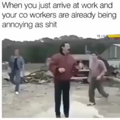 annoyed coworker GIFs