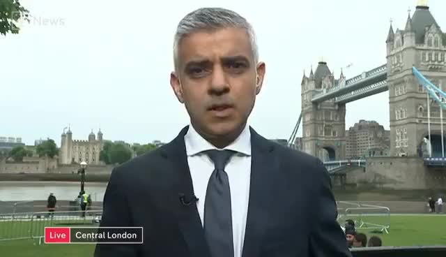 Watch and share London Mayor Sadiq Khan: 'Police Cuts Are Unsustainable' GIFs on Gfycat