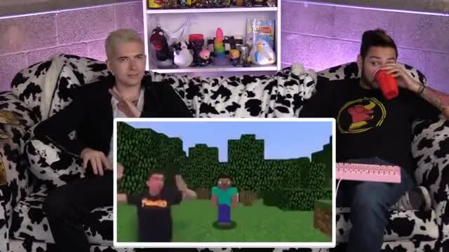Watch MINECRAFT RAPS AND YOUTUBE COPYCATS GIF on Gfycat. Discover more Reaction, TRIGGERED, cowchop, immortalHD, microaggressions, minecraft, raps, react, reactions, review, roleplay, trailer GIFs on Gfycat