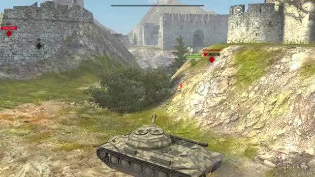 Watch and share World Of Tanks Blitz Soviet Gun 3 GIFs by fodnjs0811 on Gfycat