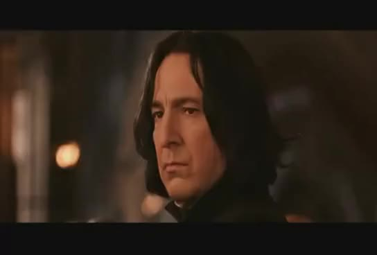 Watch and share Snape Hair Flip GIFs on Gfycat