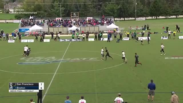 Watch Ironside v. Revolver highlights (2016 Nationals - men's final) GIF by JoeMama Ultimate (@marmersteinj) on Gfycat. Discover more 2016, nationals, ultimate GIFs on Gfycat
