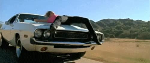 Watch and share Quentin Tarantino GIFs and Dodge Challenger GIFs on Gfycat