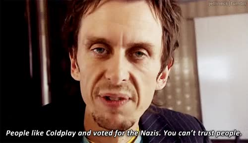 Watch and share Super Hans From Peep Show GIFs on Gfycat