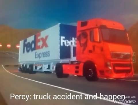 Grand Truck Simulator Skin Volvo Fh And Fedex Dangerous Truck Fail
