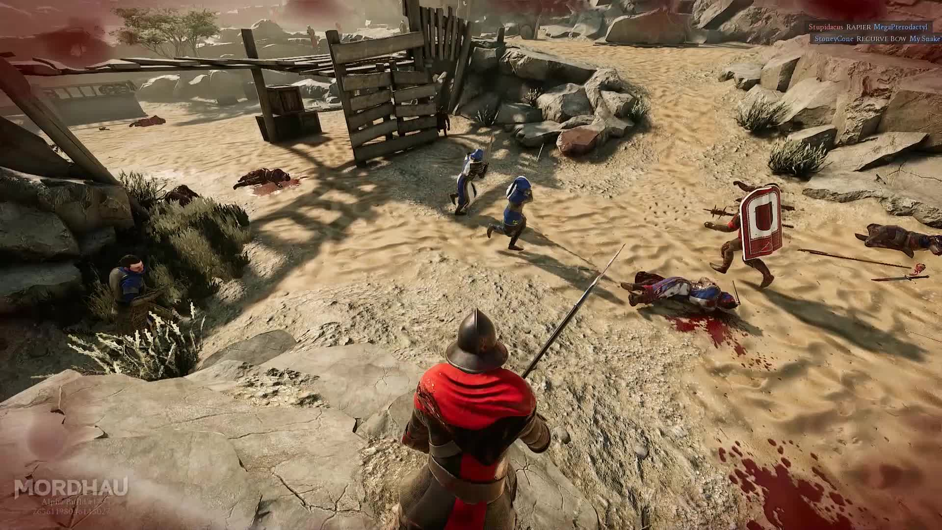 fight, fighting, gore, medieval, mordhau, sword, head flies GIFs