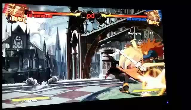 Guiltygear, guiltygear, Leo's damage is insane! (reddit) GIFs