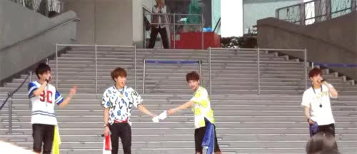Watch M.O.L.A GIF on Gfycat. Discover more 150812, alex, day by day, high4, high5, japan, myunghan, ot4, sunggu, youngjun GIFs on Gfycat