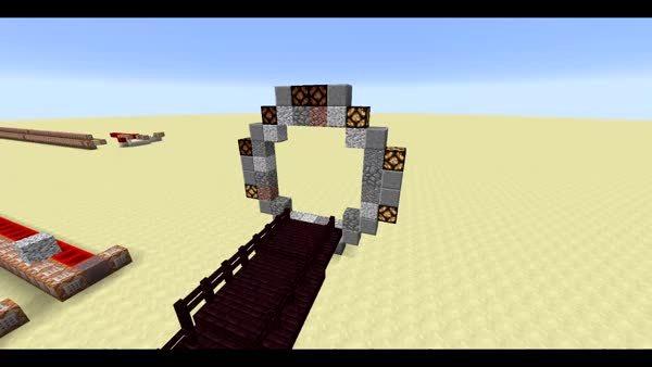 minecraft, Stargate in Minecraft GIFs