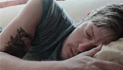 Watch and share Norman Reedus GIFs and Sleeping GIFs on Gfycat