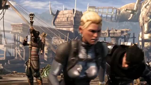 Watch and share MKX - QTE Failed Damage GIFs by 76sup on Gfycat
