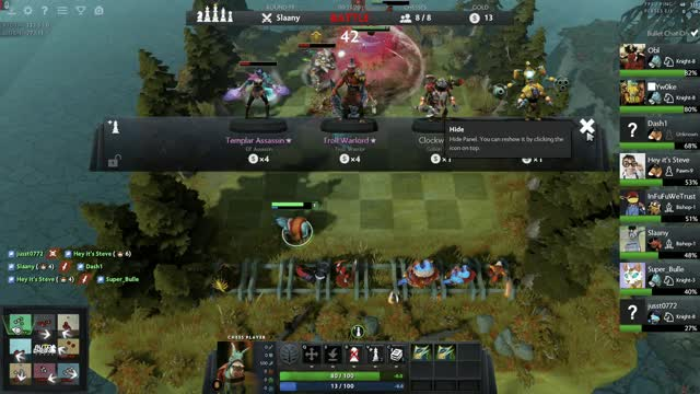 Watch and share Dota Chess Combat... GIFs by yw0kee on Gfycat
