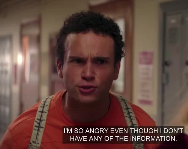 Watch and share Goldbergs GIFs and Anger GIFs by Huh? on Gfycat