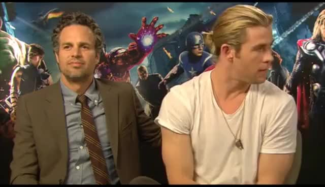 Watch and share Chris Hemsworth GIFs and Mark Ruffalo GIFs on Gfycat