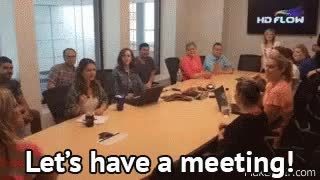 Watch and share Meeting GIFs on Gfycat
