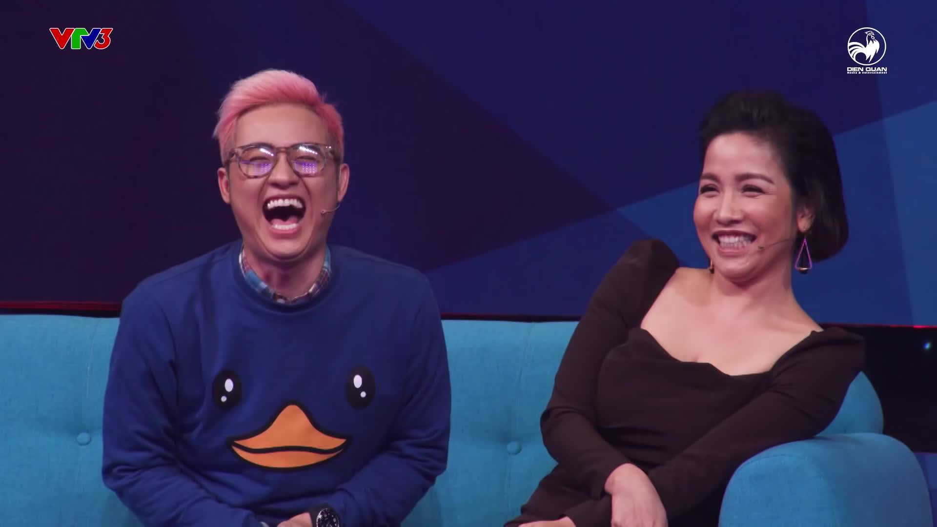 Sau Mỹ Tâm, Thanh Duy là nhân vật sở hữu nụ cười không đụng hàng tại các gameshow truyền hình