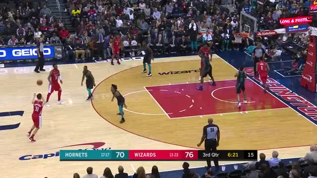 Watch and share Washington Wizards GIFs and Charlotte Hornets GIFs on Gfycat