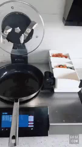 Automatic fried rice maker