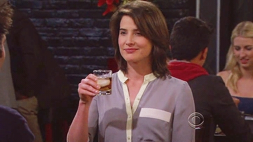 Cobie Smulders, I'm back to stay, Oh dear and I'm feeling kind of sassy, What's up with that?,  GIFs