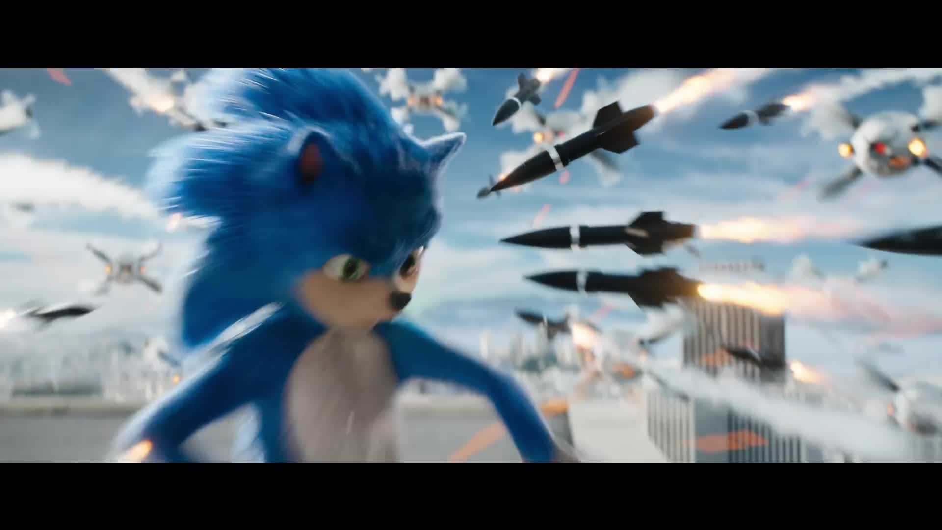 Sonic The Hedgehog S First Trailer Has Us 100 Fixated On His Teeth Gamesradar