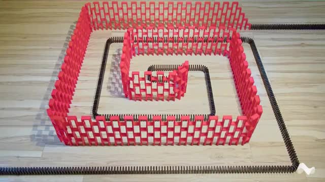 Watch Endless Domino Tricks GIF by Moodica (@moodica) on Gfycat. Discover more related GIFs on Gfycat