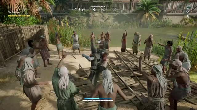 Watch this GIF by Xbox DVR (@xboxdvr) on Gfycat. Discover more AssassinsCreedOrigins, SCPillows, xbox, xbox dvr, xbox one GIFs on Gfycat