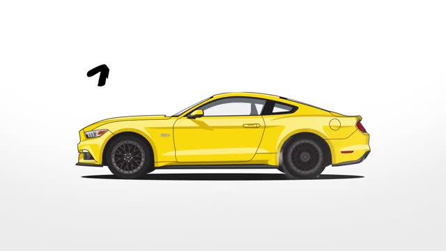 Watch and share Mustang Evolution GIFs and Mustang Fastback GIFs by meskal on Gfycat