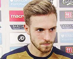 Watch and share Aaron Ramsey GIFs and Arsenal GIFs on Gfycat