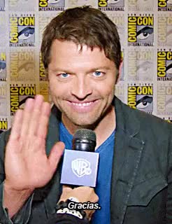 Watch this GIF on Gfycat. Discover more cons*, j2m, j2m*, jared padalecki, jared*, jen*, jensen ackles, mish*, misha collins, mygifs, sdcc 2015, spn*, spnspanish GIFs on Gfycat
